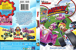 Mickey and the Roadster Racers - Y Los Superpilotos - cover
